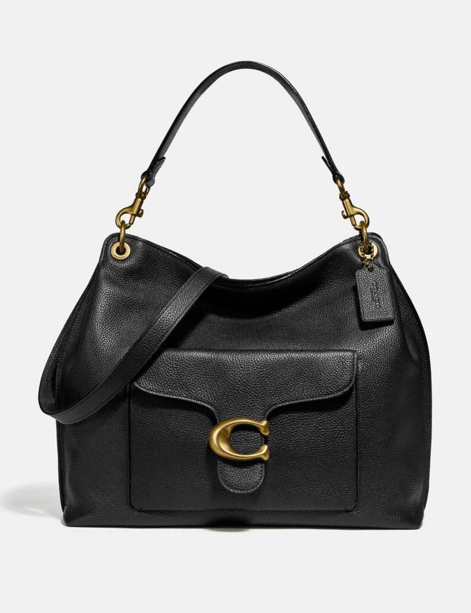 Coach Tabby Hobo Brass/Black Women Collection Tabby