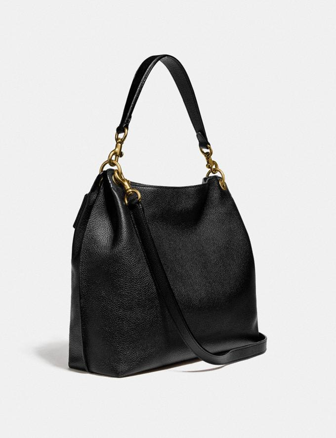 Coach Tabby Hobo Brass/Black Women Collection Tabby Alternate View 1