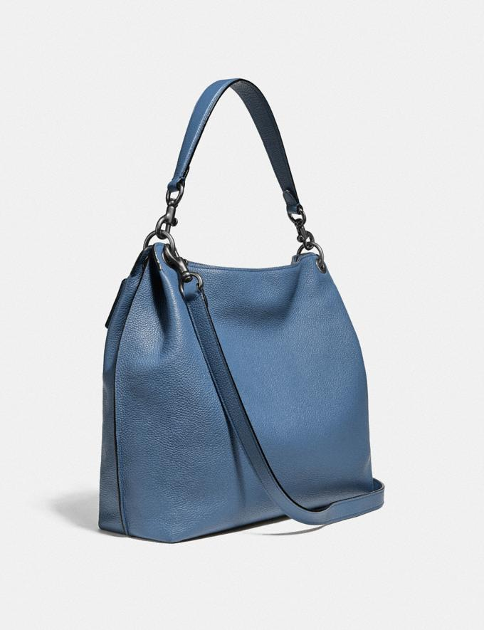 Coach Tabby Hobo Pewter/Stone Blue Gifts For Her Bestsellers Alternate View 1