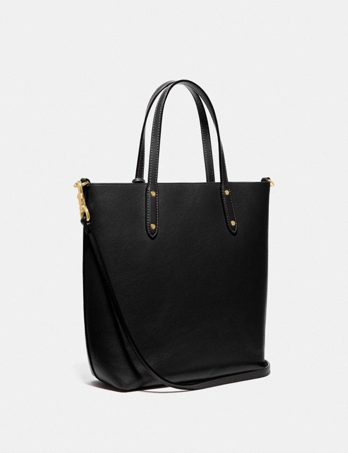 Coach Central Shopper Tote Gold/Black SUMMER SALE Sale Edits Further Reductions Further Reductions Alternate View 1