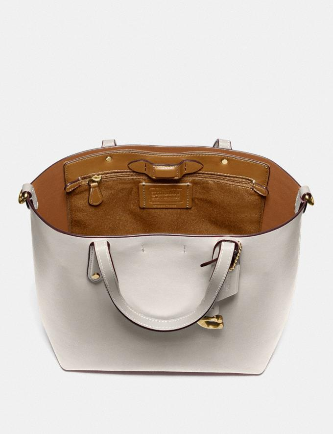 Coach Central Shopper Tote Gold/Kreide Damen Taschen Totes Alternative Ansicht 2