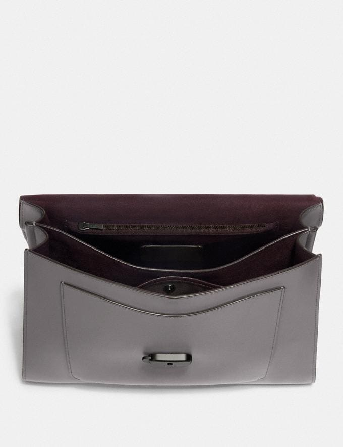 Coach Tabby Top Handle Grau Meliert/Zinn Neu Kooperationen Nur online Alternative Ansicht 2