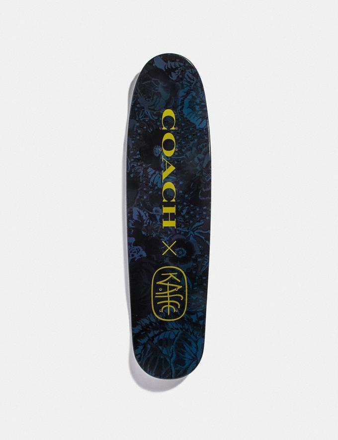 Coach Skateboard With Kaffe Fassett Print Indigo New Featured Coach x Kaffe