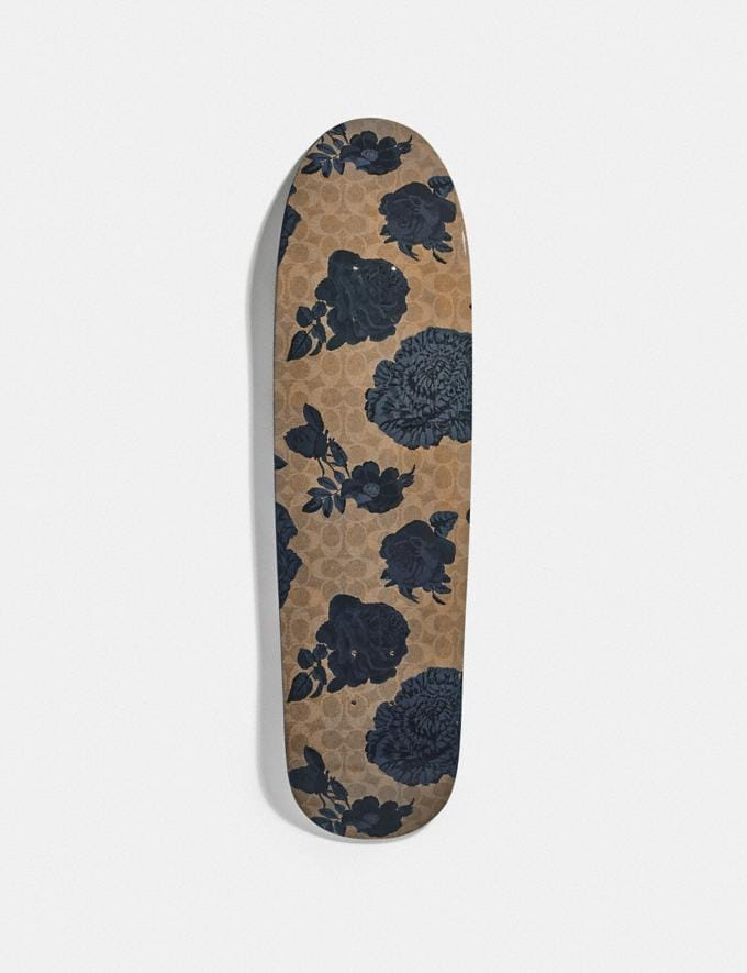 Coach Skateboard With Kaffe Fassett Print Indigo New Men's New Arrivals Alternate View 1