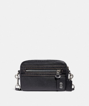 ACADEMY CROSSBODY WITH COACH PATCH
