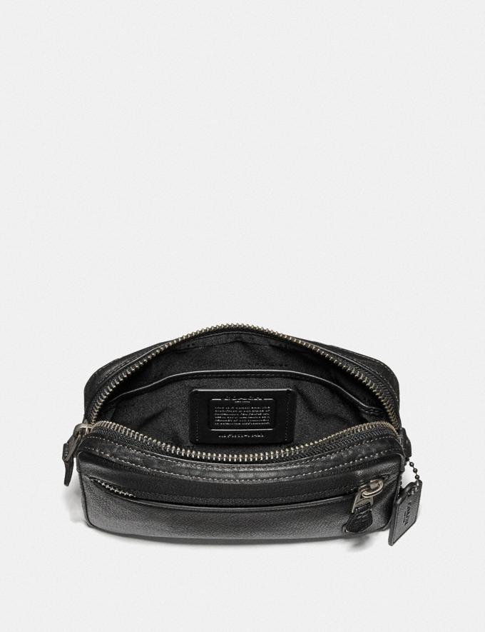 Coach Metropolitan Soft Belt Bag With Coach Patch Black/Light Antique Nickel Cyber Monday Men's Cyber Monday Sale Bags Alternate View 2