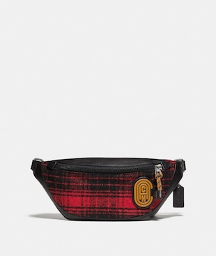 RIVINGTON BELT BAG WITH COACH PATCH