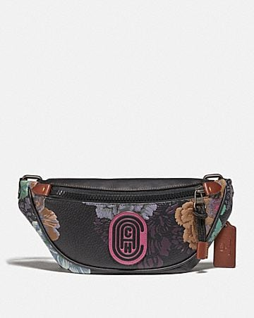 MINI RIVINGTON BELT BAG WITH KAFFE FASSETT PRINT