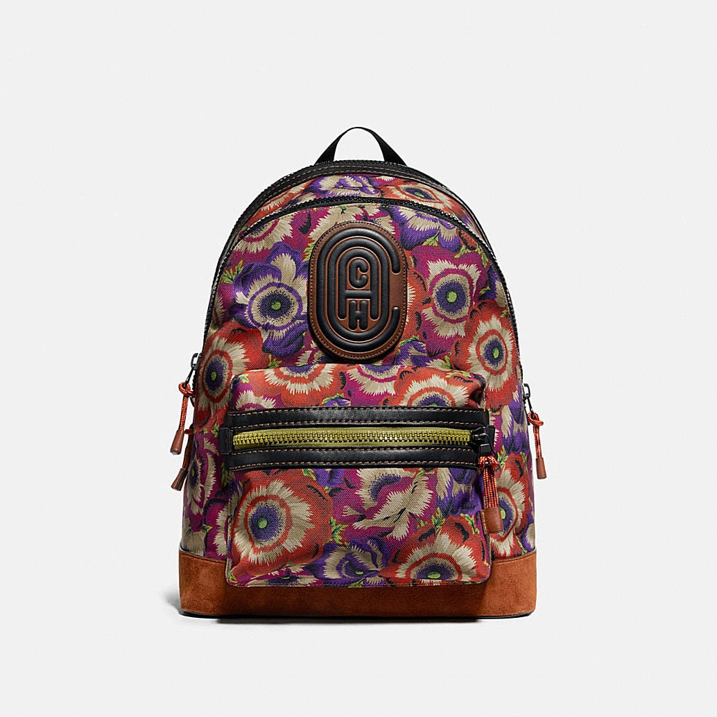 Academy Backpack With Kaffe Fassett Print And Coach Patch by Coach