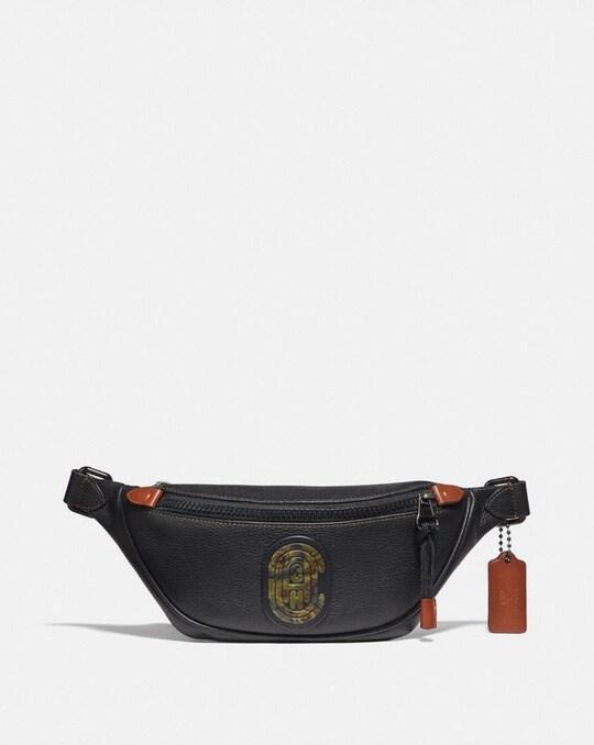 RIVINGTON BELT BAG 7 WITH KAFFE FASSETT COACH PATCH