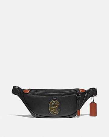 RIVINGTON BELT BAG 7 WITH KAFFE FASSETT COACH PATCH