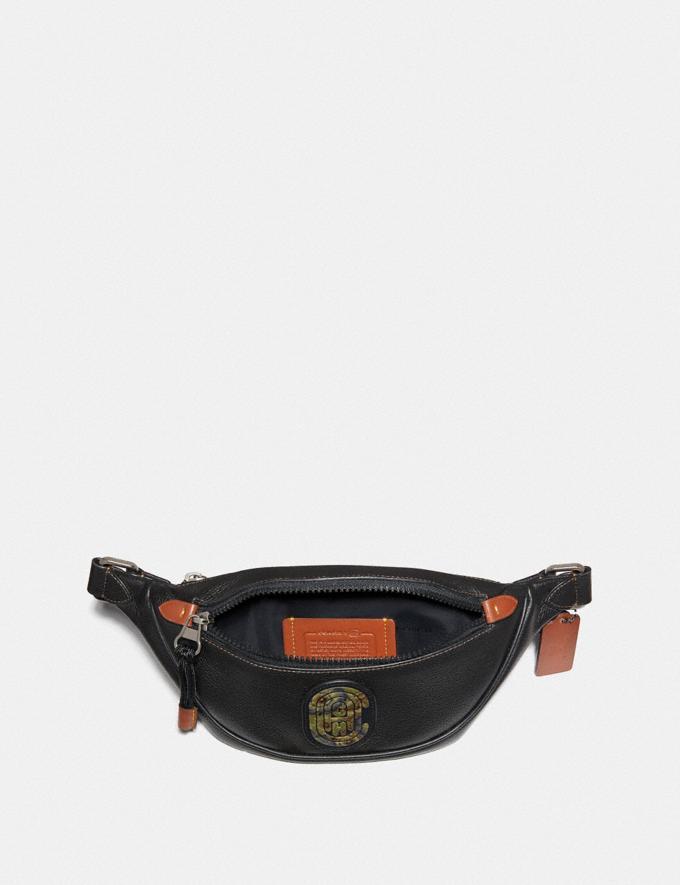 Coach Rivington Belt Bag 7 With Kaffe Fassett Coach Patch Black/Black Copper 30% off Select Full-Price Styles Alternate View 2