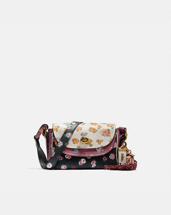 Coach COACH X TABITHA SIMMONS CROSSBODY 17 IN COLORBLOCK WITH MEADOW ROSE PRINT