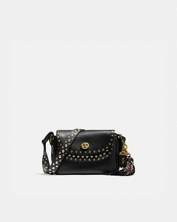 Coach COACH X TABITHA SIMMONS CROSSBODY 17 WITH RIVETS