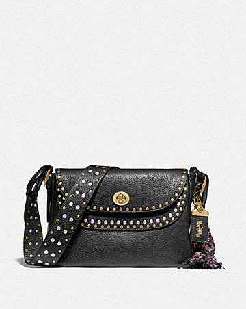 COACH X TABITHA SIMMONS CROSSBODY WITH RIVETS