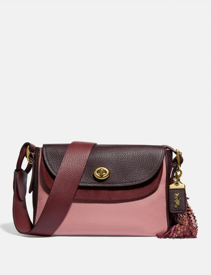 Coach Coach X Tabitha Simmons Crossbody in Colorblock Light Blush Multi/Brass New Featured Coach X Tabitha Simmons