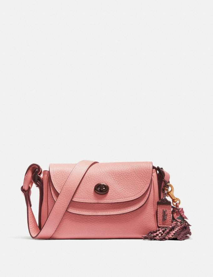 Coach Coach X Tabitha Simmons Crossbody 17 Light Blush/Pewter