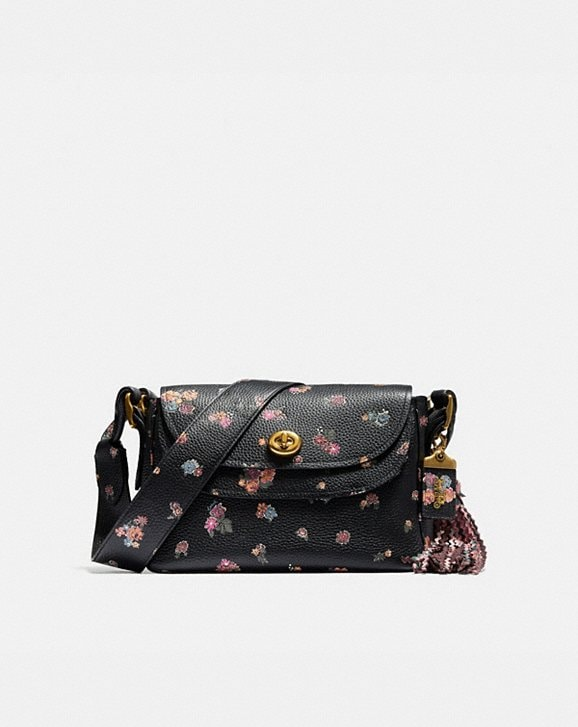 Coach COACH X TABITHA SIMMONS CROSSBODY WITH MEADOW ROSE PRINT