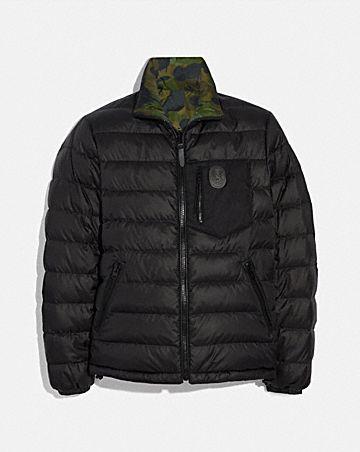 reversible puffer jacket