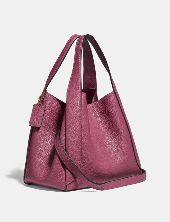 Coach Hadley Hobo 21 Gold/Dusty Pink Women Handbags Crossbody Bags Alternate View 1