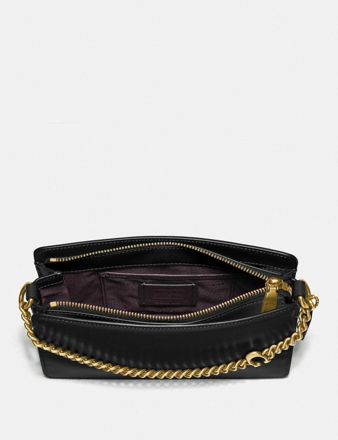 Coach Signature Chain Crossbody B4/Black New Women's New Arrivals Small Leather Goods Alternate View 3