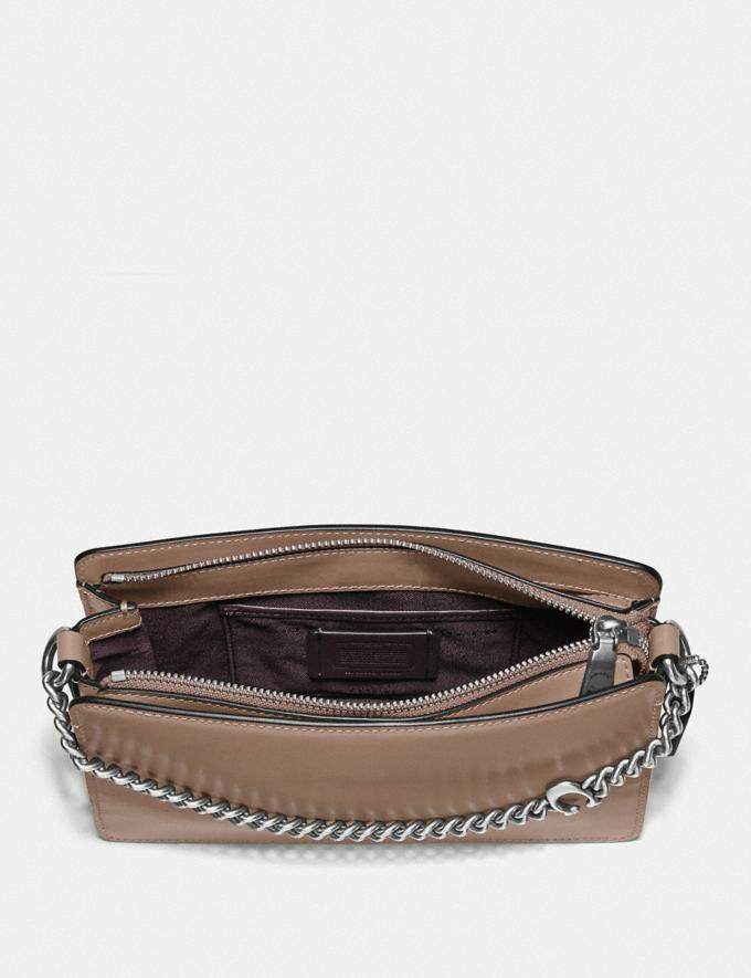 Coach Signature Chain Crossbody Lh/Taupe New Women's New Arrivals Alternate View 3