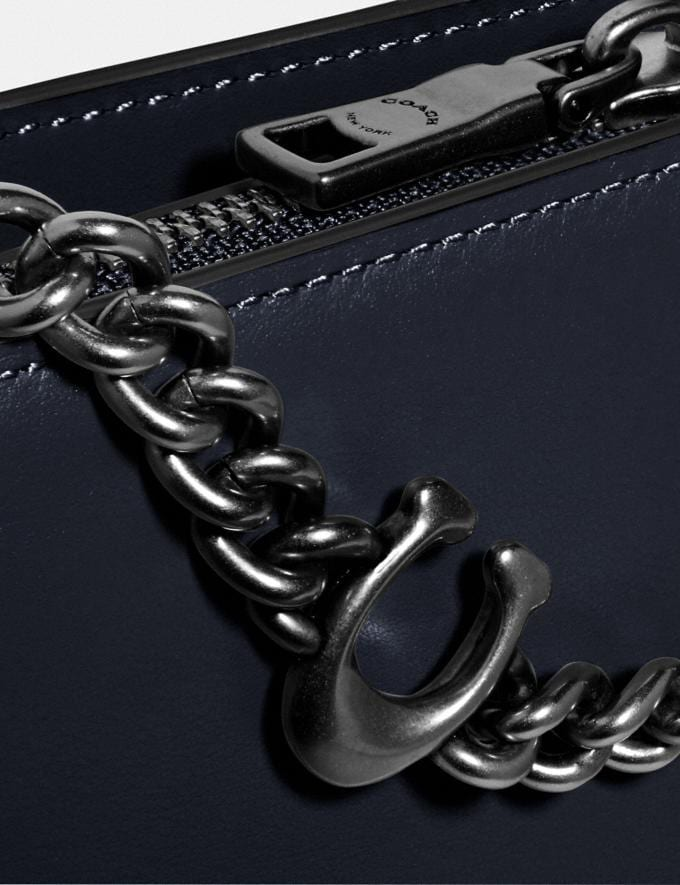 Coach Signature Chain Crossbody V5/Midnight Navy Black Friday Finds For Her 30% off (and more) Alternate View 4