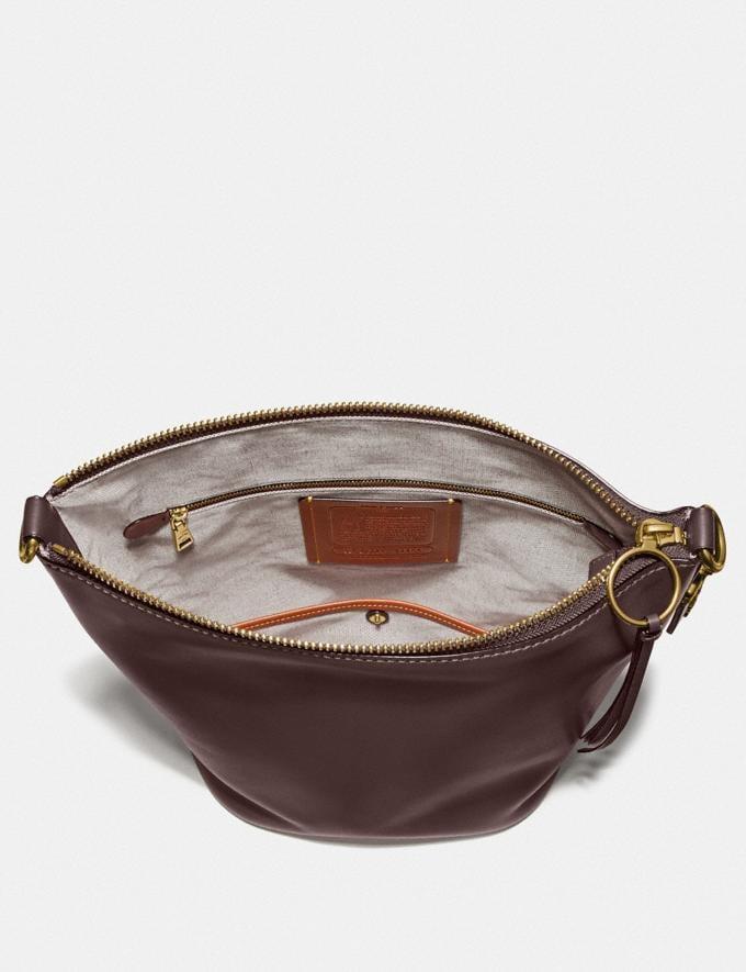 Coach Duffle Brass/Dark Teak Women Handbags Shoulder Bags & Hobos Alternate View 2
