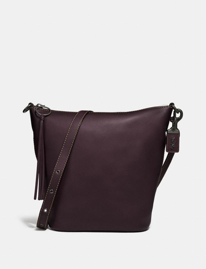 Coach Duffle Pewter/Oxblood Gifts For Her Under $500
