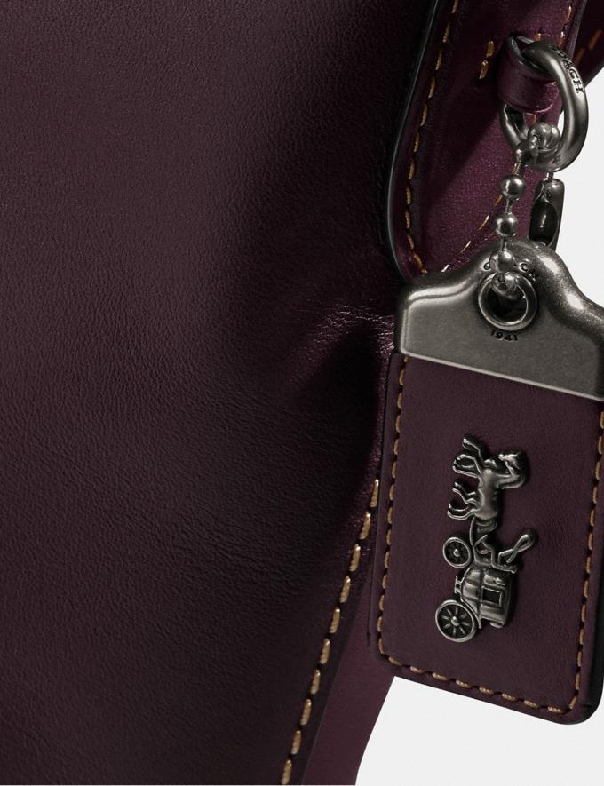 Coach Duffle Pewter/Oxblood Gifts For Her Under $500 Alternate View 4