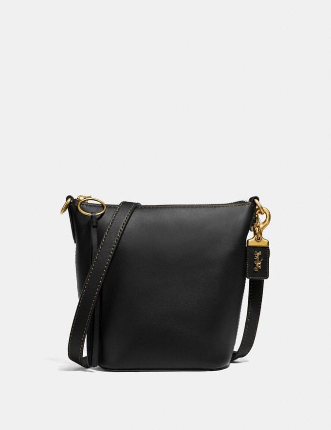 Coach Duffle 20 Brass/Black Women Bags Crossbody Bags