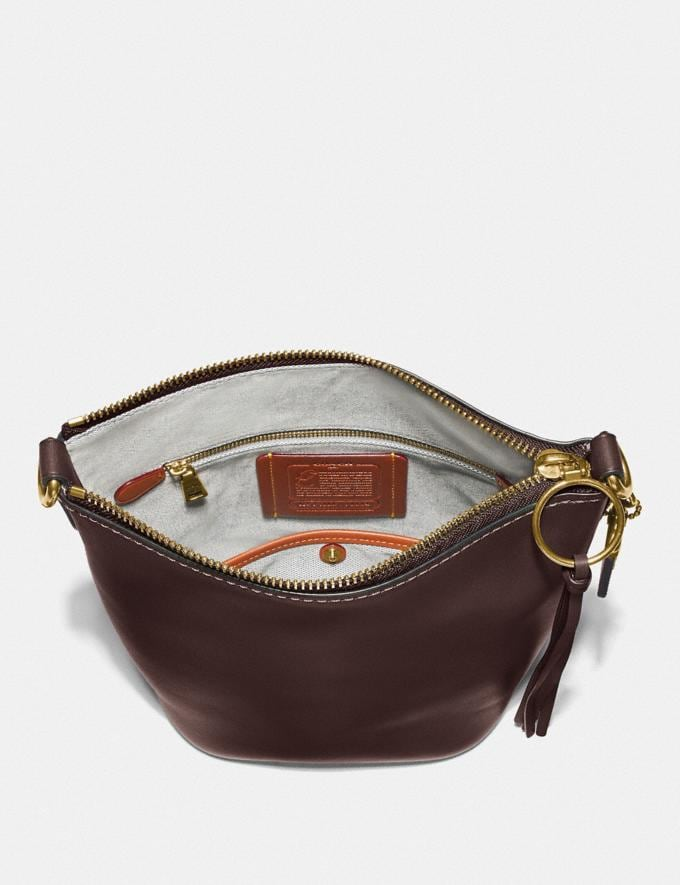 Coach Duffle 20 Brass/Dark Teak SALE March Event Women's Alternate View 2