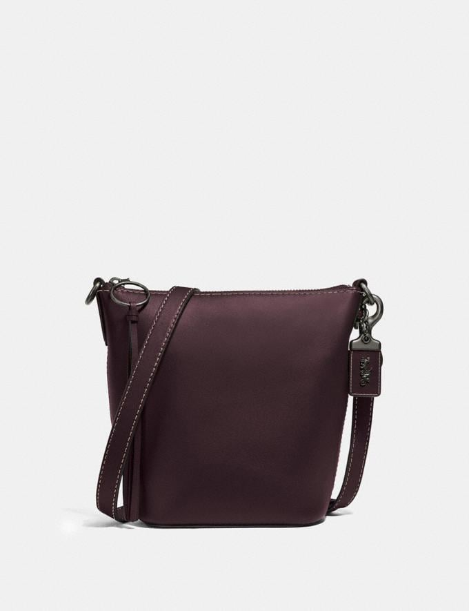 Coach Duffle 20 Pewter/Oxblood New Featured Online Exclusives