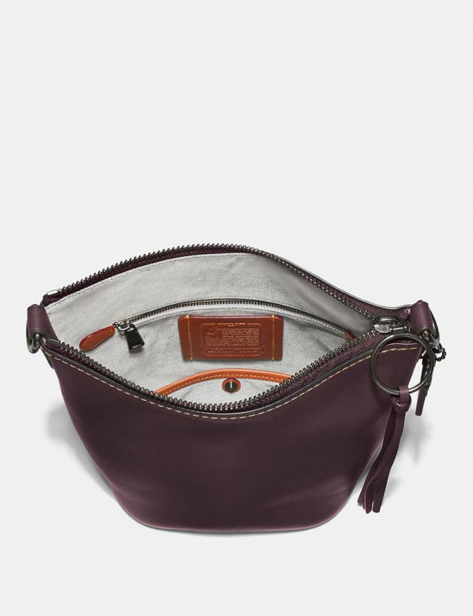Coach Duffle 20 Pewter/Oxblood New Featured Online Exclusives Alternate View 2