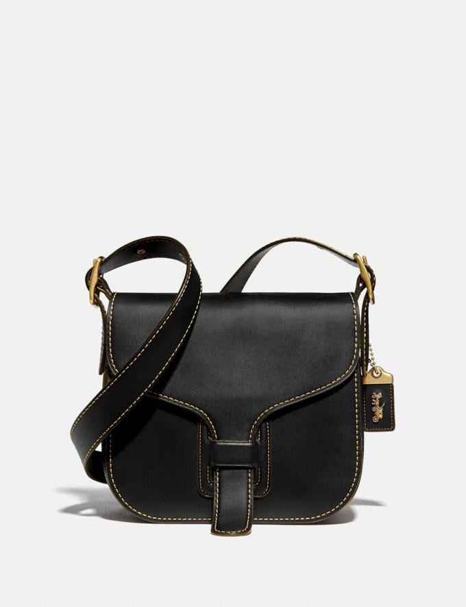 Coach Courier Bag Brass/Black Gifts For Her Under $500