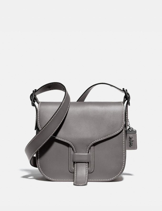 Coach Courier Bag Pewter/Heather Grey SALE March Event Women's