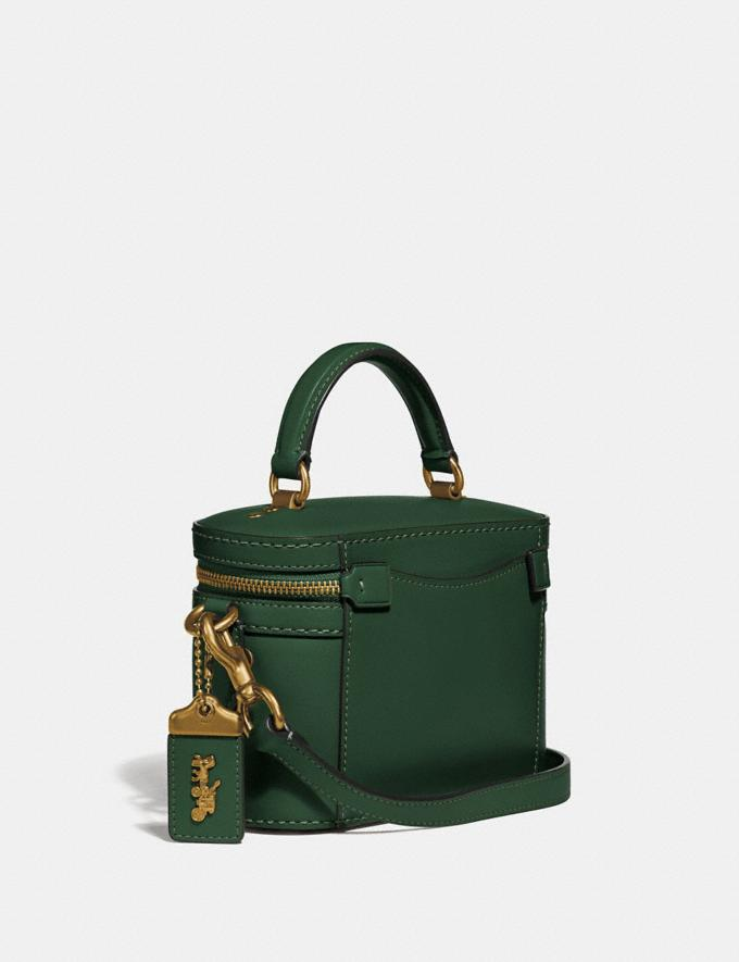 Coach Trail Bag Brass/Hunter Green New Featured Online Exclusives Alternate View 1