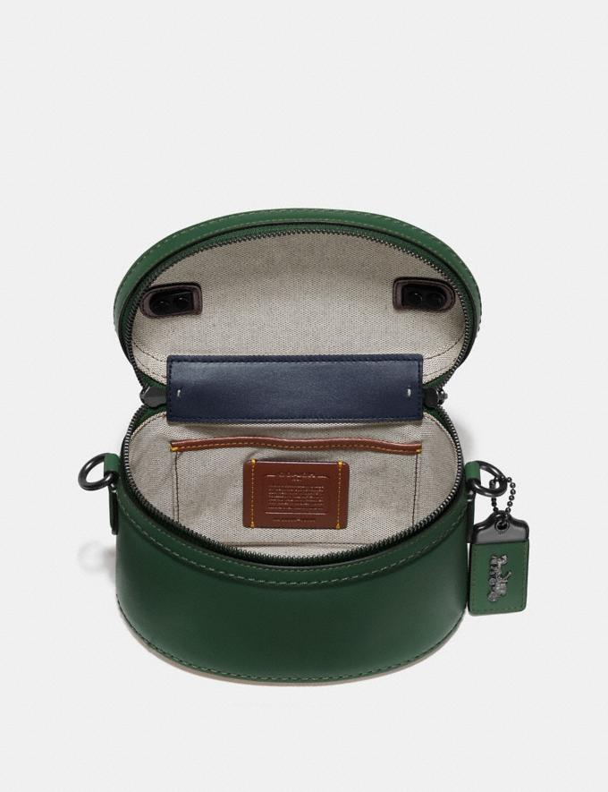 Coach Trail Bag Brass/Hunter Green Women Handbags Satchels & Top Handles Alternate View 2