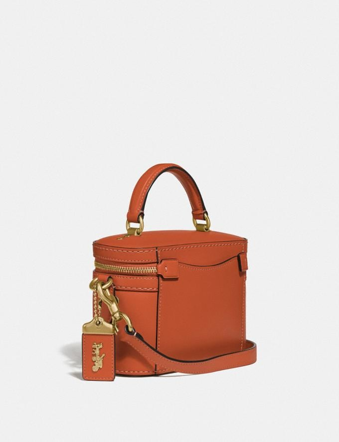 Coach Trail Bag Brass/Vermillion Gifts For Her Under $500 Alternate View 1