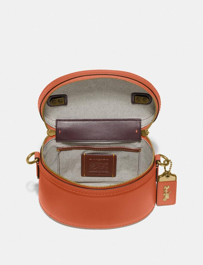 Coach Trail Bag Brass/Vermillion Gifts For Her Under $500 Alternate View 2