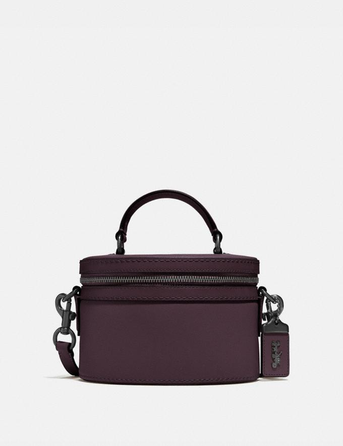 Coach Trail Bag Pewter/Oxblood Personalise For Her Bags