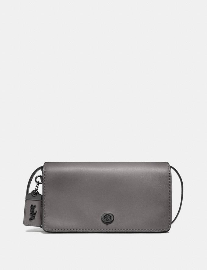 Coach Dinky Pewter/Heather Grey New Featured Women New Top Picks