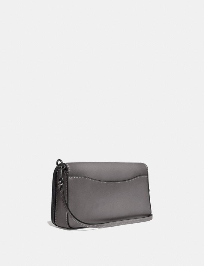 Coach Dinky Pewter/Heather Grey Women Handbags Crossbody Bags Alternate View 1