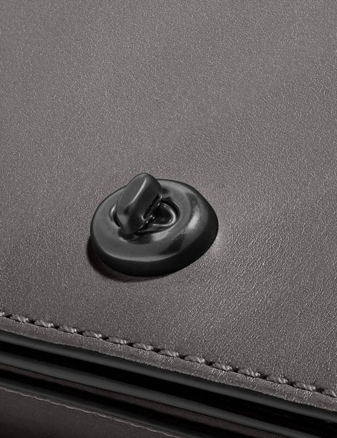 Coach Dinky Pewter/Heather Grey Women Handbags Crossbody Bags Alternate View 5