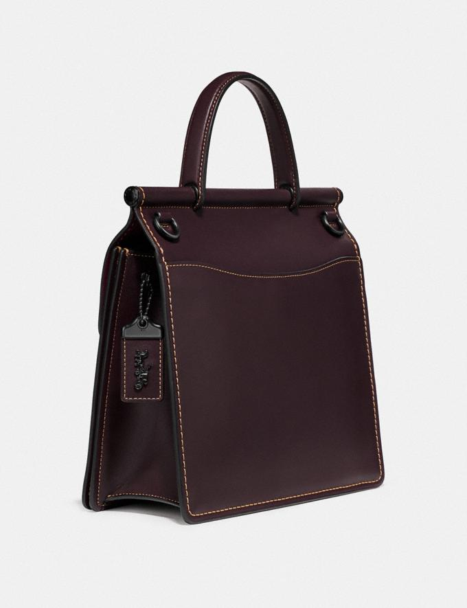 Coach Archive Willis Top Handle Rot Neu Kooperationen The Coach Originals Alternative Ansicht 1
