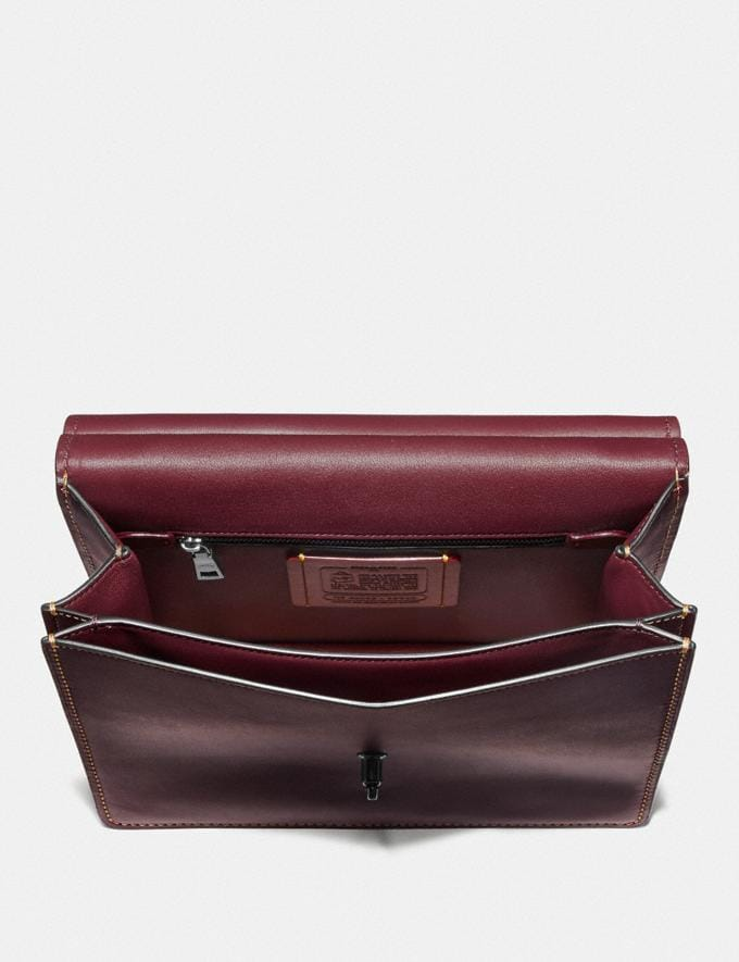 Coach Archive Willis Top Handle Rot Neu Kooperationen The Coach Originals Alternative Ansicht 2