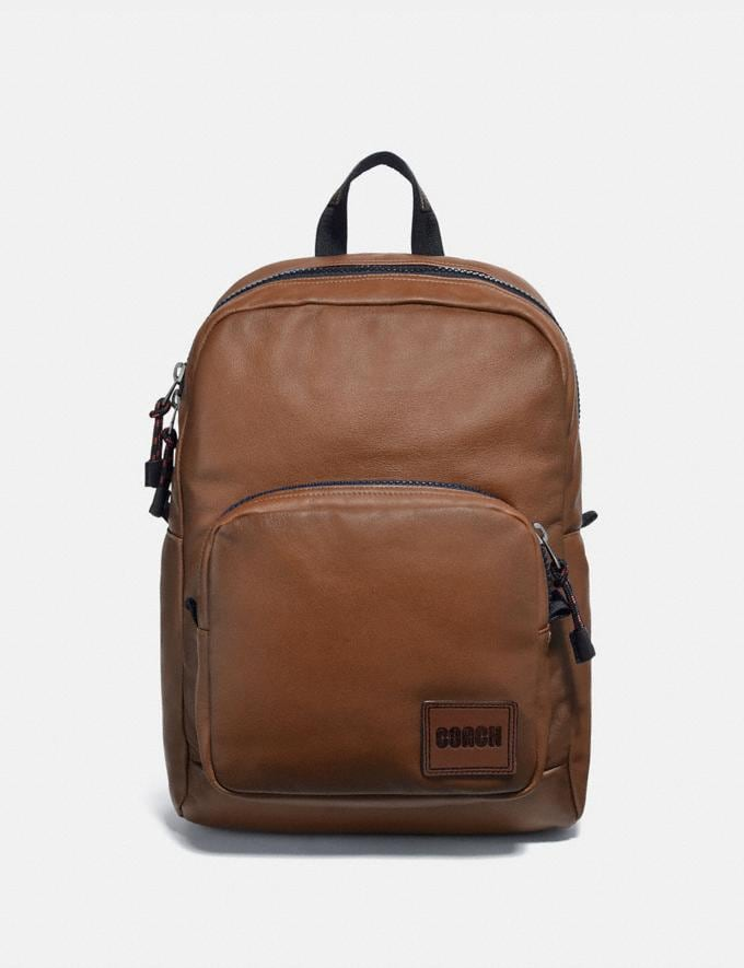 Coach Pacer Tall Backpack With Coach Patch Ji/Saddle New Men's New Arrivals