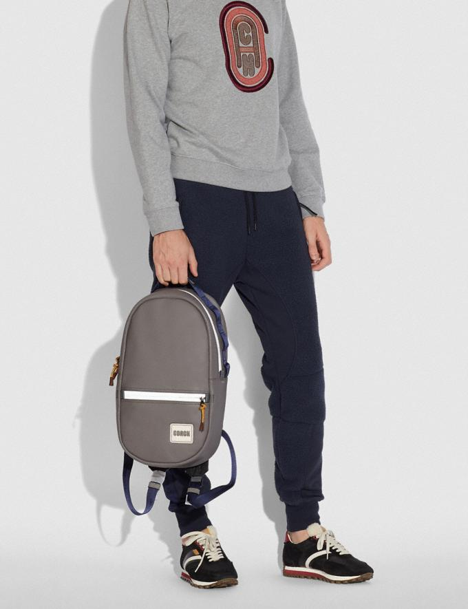 Coach Pacer Backpack With Coach Patch Black Copper/Heather Grey SALE 30% off Select Full-Price Styles Men's Alternate View 3