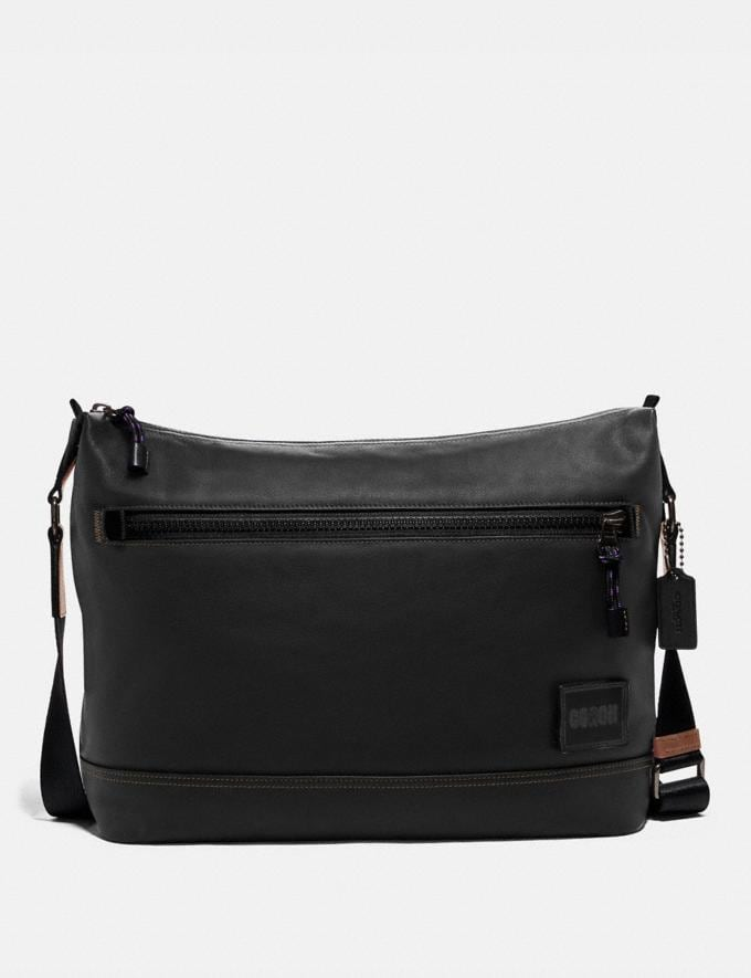 Coach Pacer Messenger Black Copper/Black Cyber Monday Men's Cyber Monday Sale Bags
