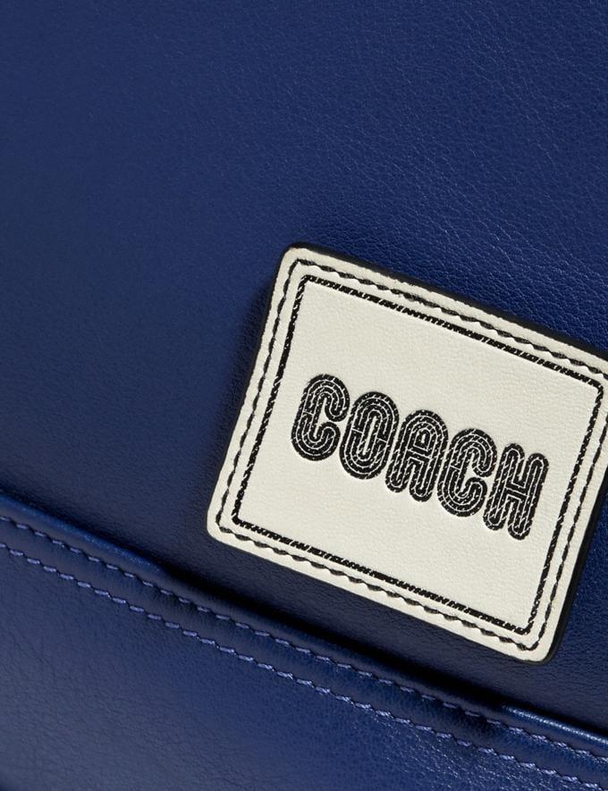 Coach Pacer Messenger Black Copper/Sport Blue New Men's New Arrivals Bags Alternate View 4